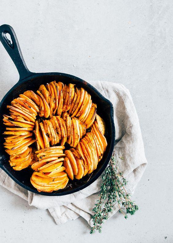 geroosterde-zoete-aardappel #sweetpotato