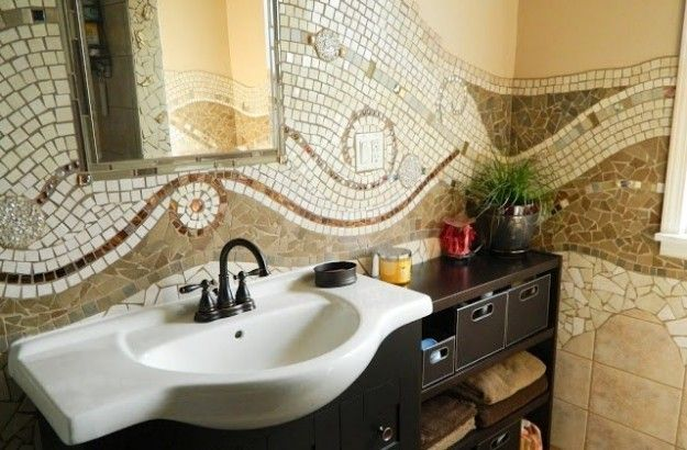 Since ancient times, the mosaic was one of the most popular solutions for decor.