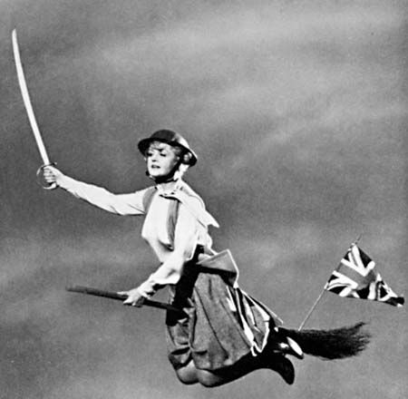 Bedknobs and Broomsticks - Angela Landsury