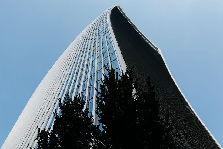 Getting neck cramps looking at the top of 20 Fenchurch Street - Unsung London Blog