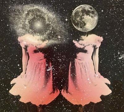 Twins. Moon Goddess.