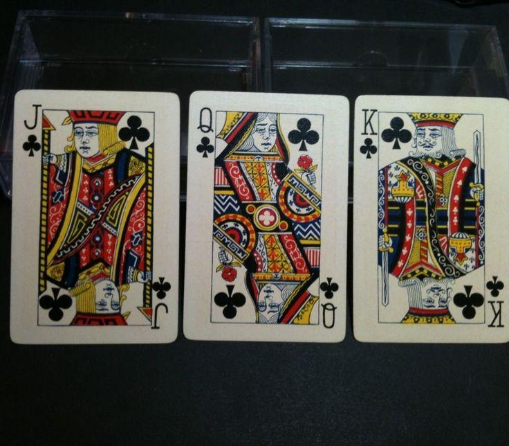 George B Hurd 52 RARE 1920 Fortune Joker Antique Poker Playing Cards Americana | eBay