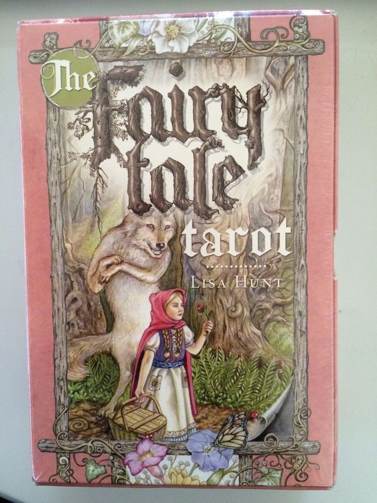For Sale - The Fairy Tale Tarot unopened, Tarot Card Deck, Book and Organdy Bag