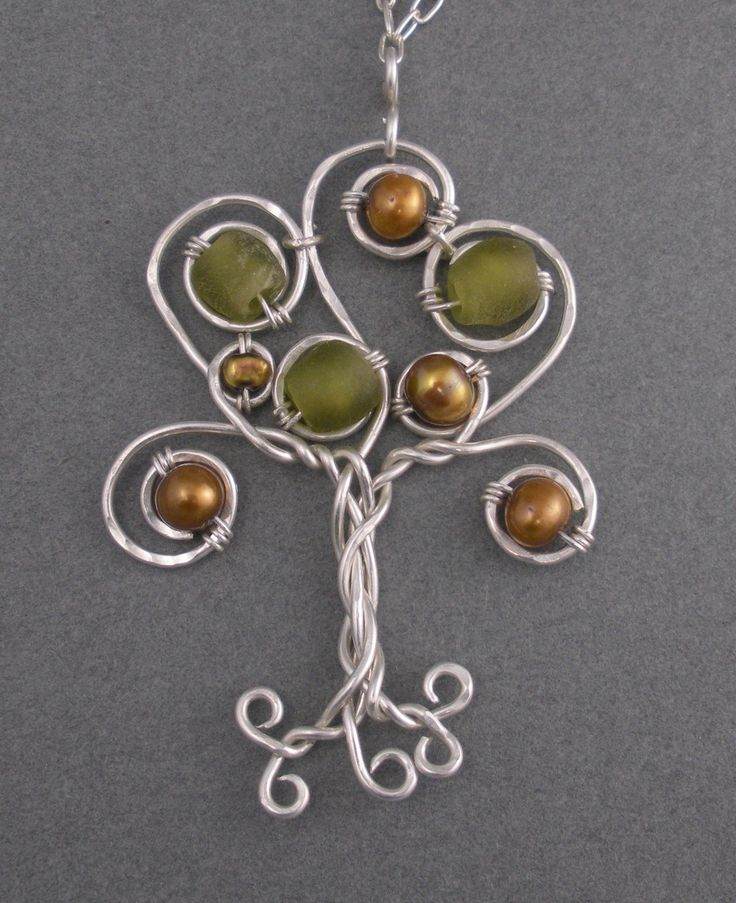 This would b cool with birthstone colored beads for a mom with lots of kids or a grandma.