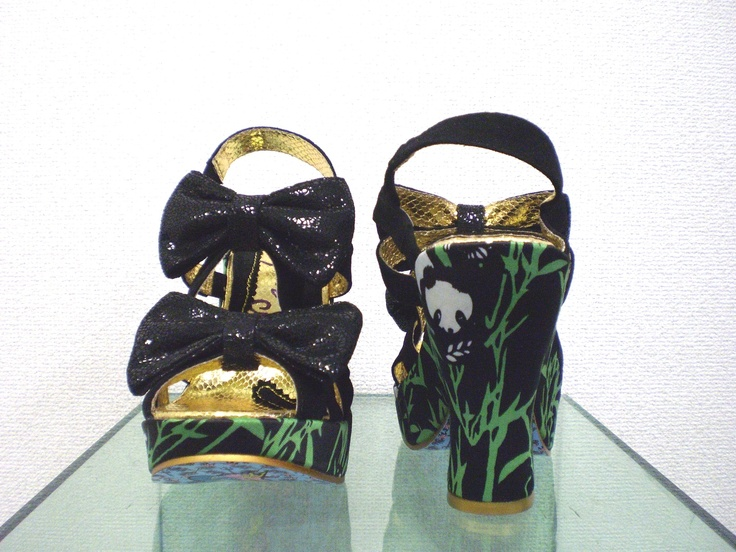 IrregularChoice Squiggly Diggly パンダ 38