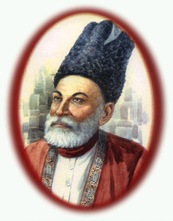 Urdu's Great Peot Mirza Ghalib'sPoetry Read in Roman online by M.Mubin