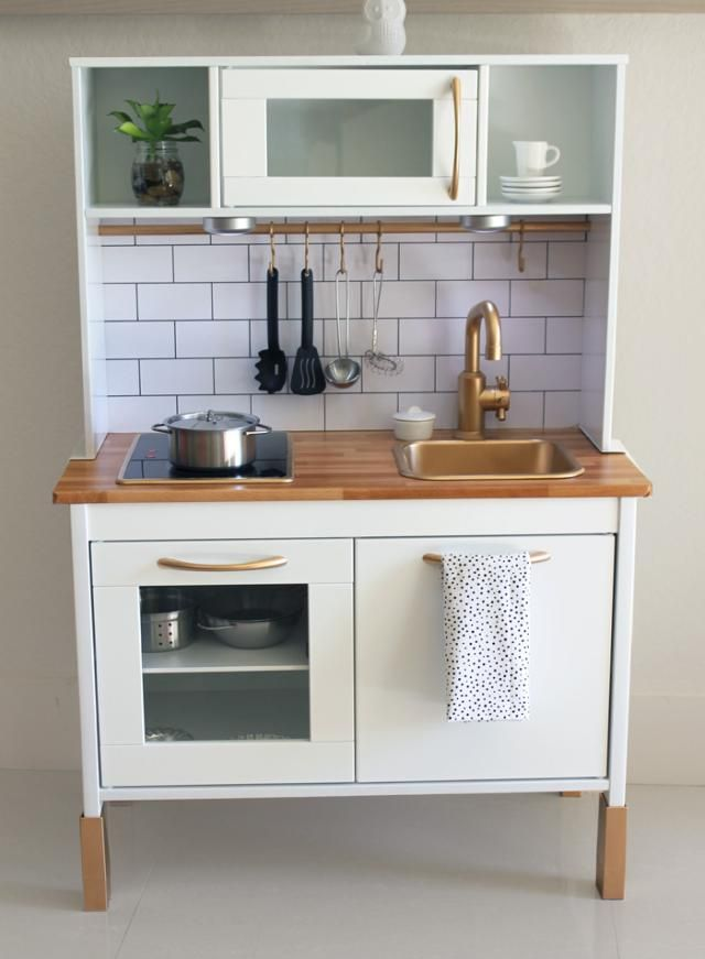 10 best Ikea Duktig makeovers images on Pinterest Play kitchens