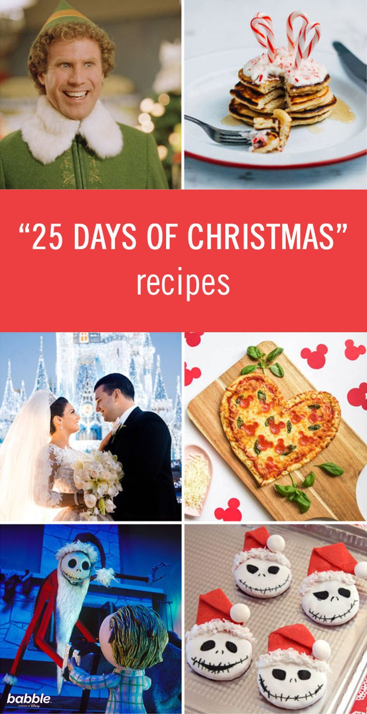 """25 Holiday Recipes for Freeform's """"25 Days of Christmas"""
