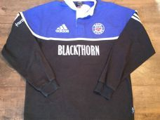 2001 2002 Bath L/s Rugby Shirt Adults Large