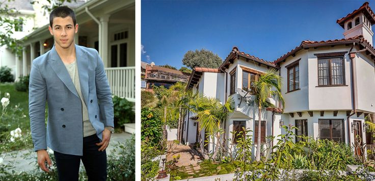 Wish I lived in LA and had the $ to buy Nick Jonas's home  - ELLEDecor.com