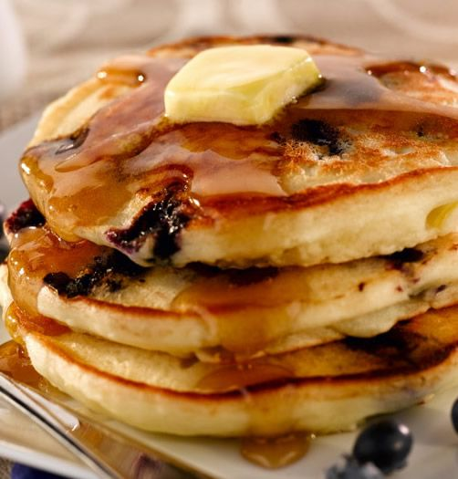 Delicious gluten free pancake recipe with only 6 ingredients.