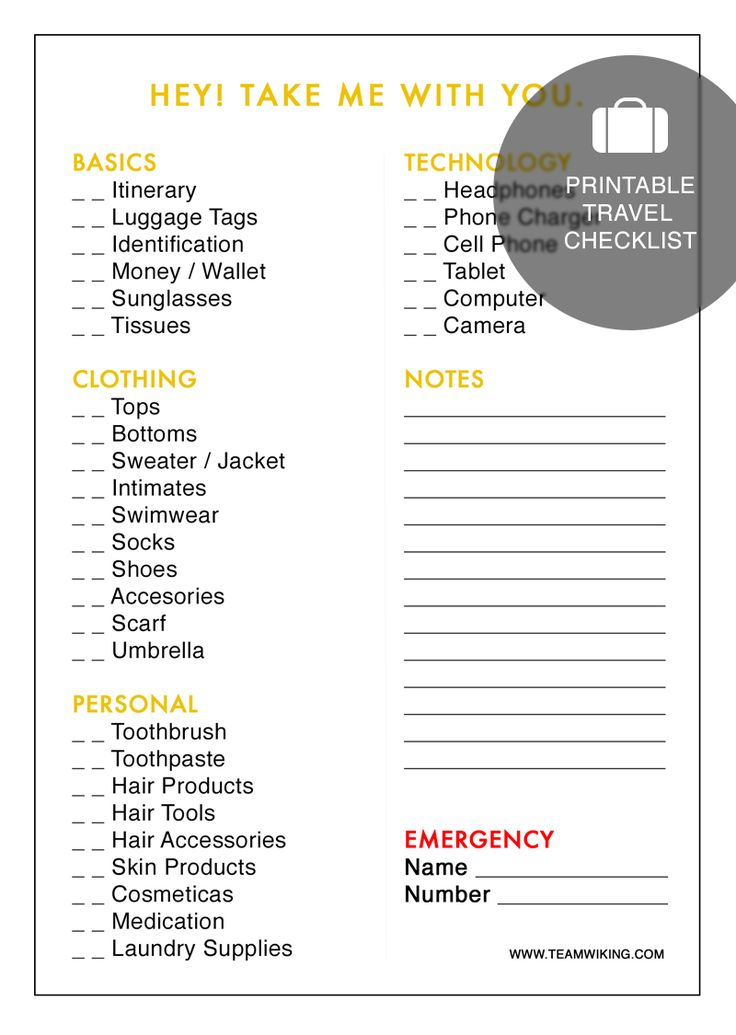 free packing list for cruise ship travel lovetoknow