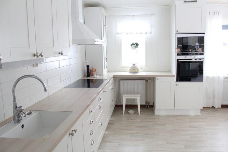 Omgjort kök i modell Tyr
