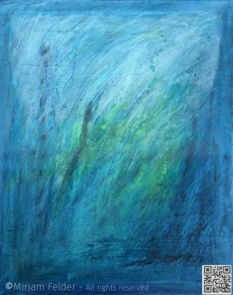 """acrylic and charcoal on canvas, 24x30"""", 60x75 cm"""