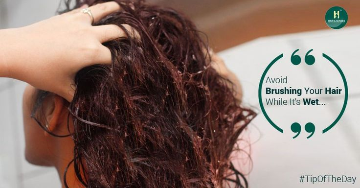 how to stop hair falling out when brushing