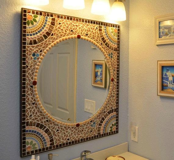 Model HEY HANDSOME Vinyl Wall Decal Sticker Bathroom Mirror