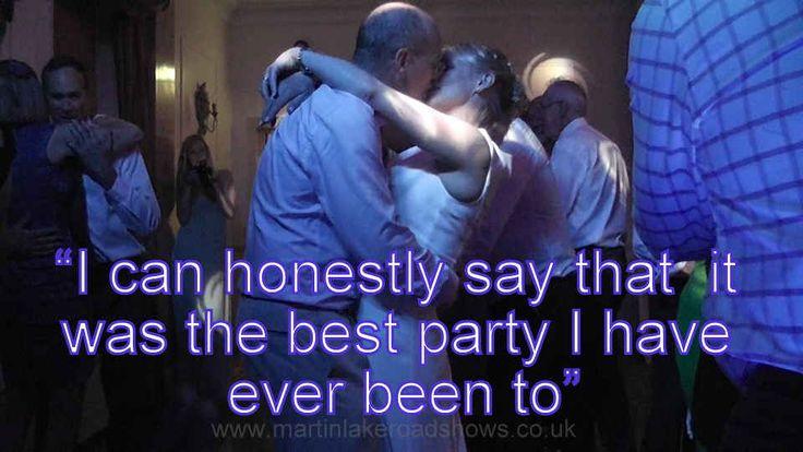 Jane & Nigel - Hampshire Wedding DJ Martin Lake Review