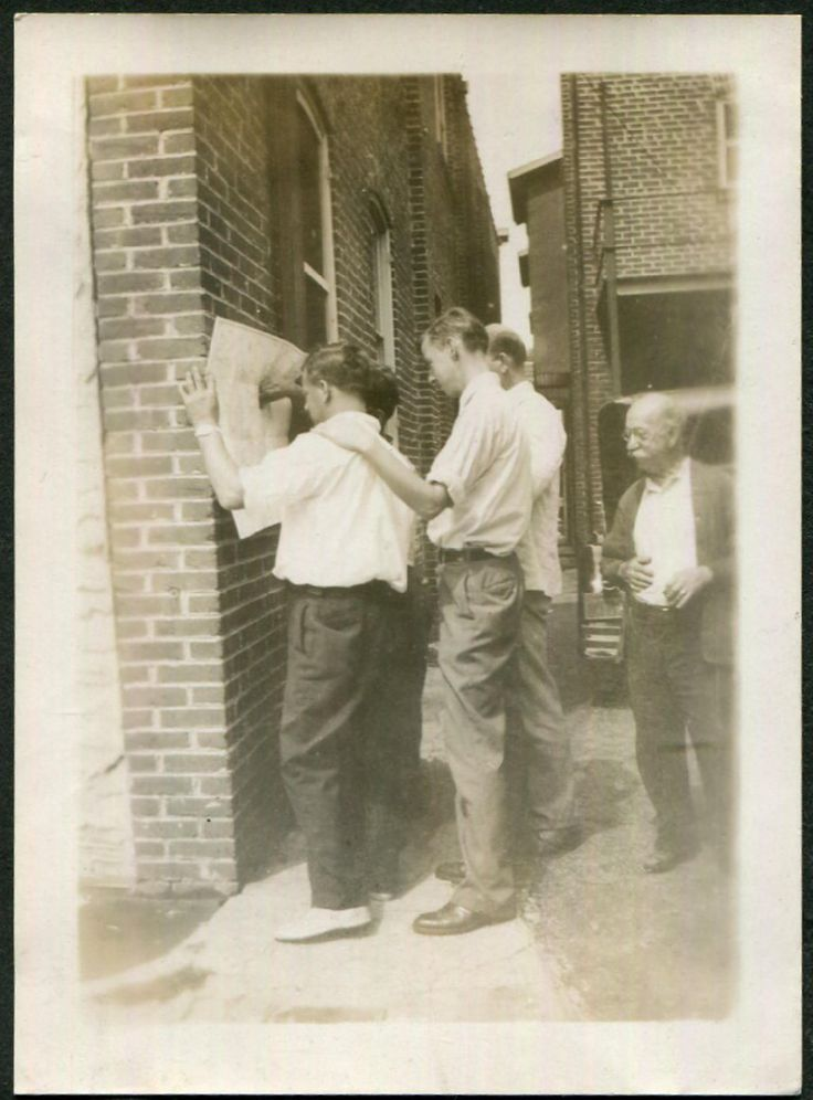 Vintage Photo of Guys Checking Baseball Scores in Newspaper, 1930's Original Found Photo, Vernacular Photography by iloveyoumorephotos on Etsy