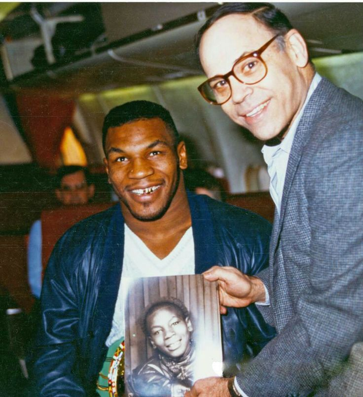 Mike Tyson and Jim Jacobs