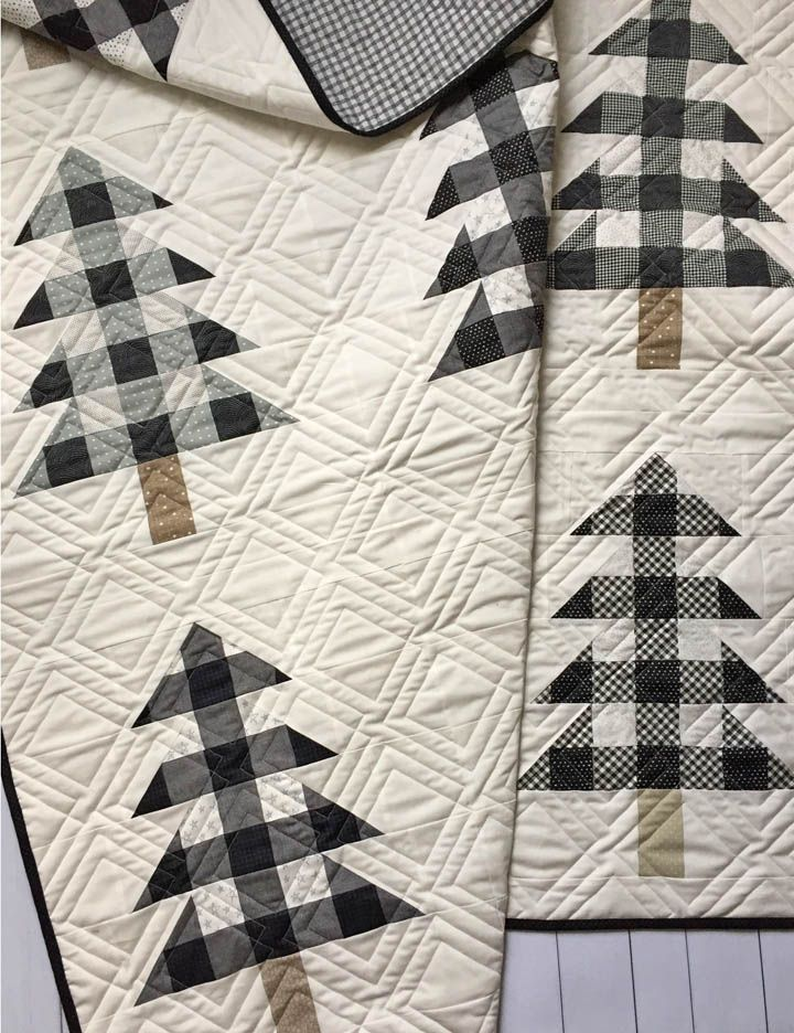 Farmhouse Christmas Pattern Christmas Tree Quilt Christmas Quilting Projects Christmas Quilts