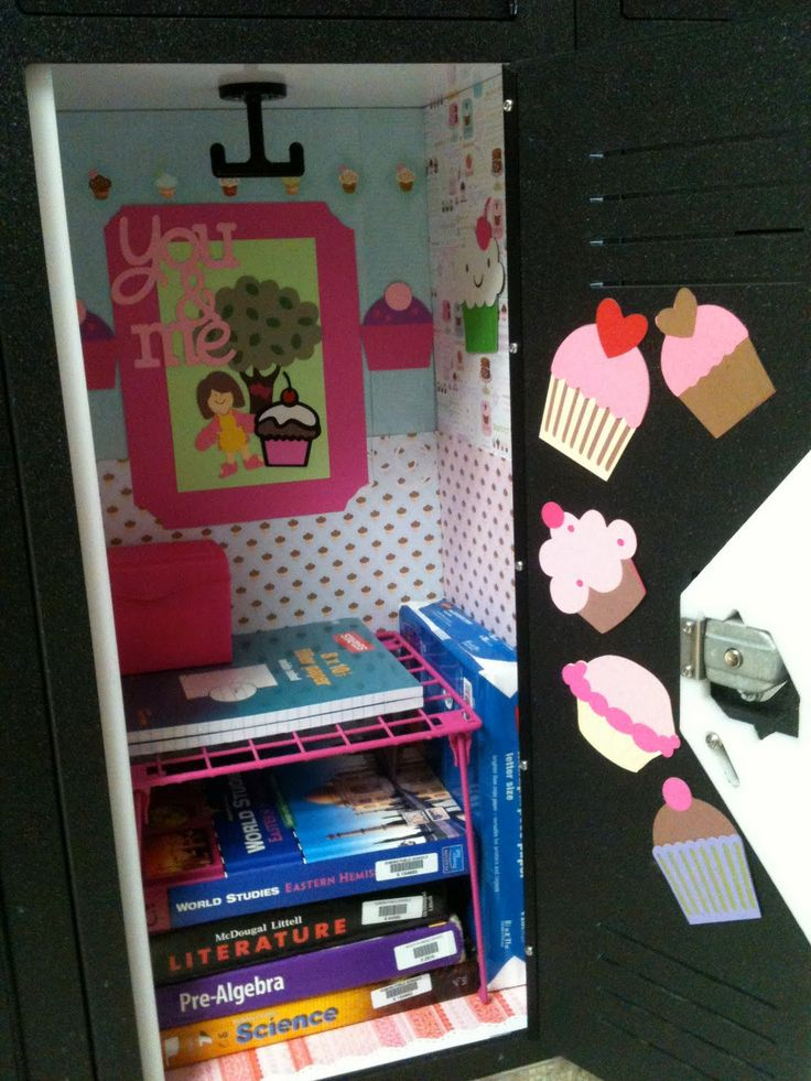 School Locker Decoration Ideas