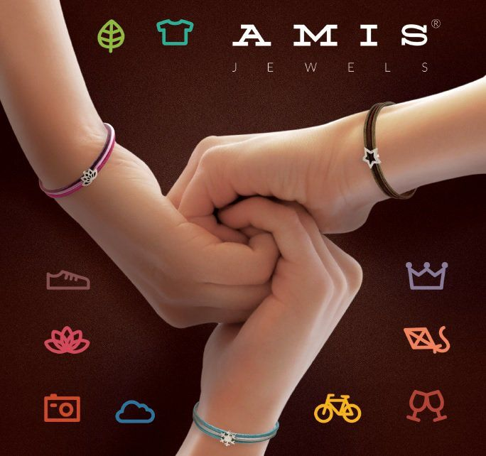 Semplicemente AMIS!  #amis #amisjewels #braccialetto #cuoio #argento  http://www.amisjewels.it/