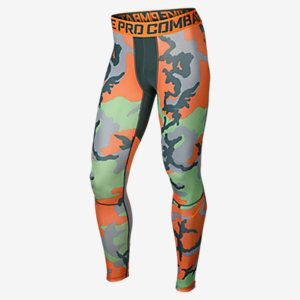 Nike Pro Combat Hypercool Woodland Men's Tights. Nike Store