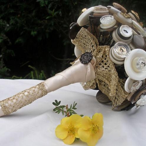 button bouquet