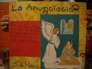Familia Católica: La Anunciación - 25 de Marzo