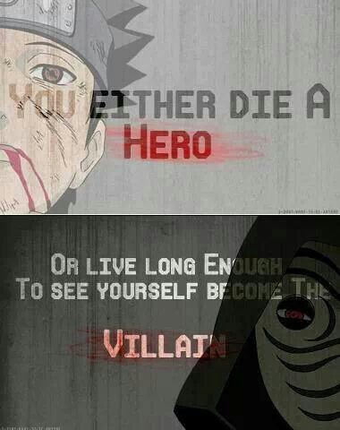 In Naruto, you can do both. Several times. In any order. ^ haha! XD Sad, but…