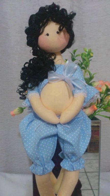Boneca de pano grávida - VilaClub