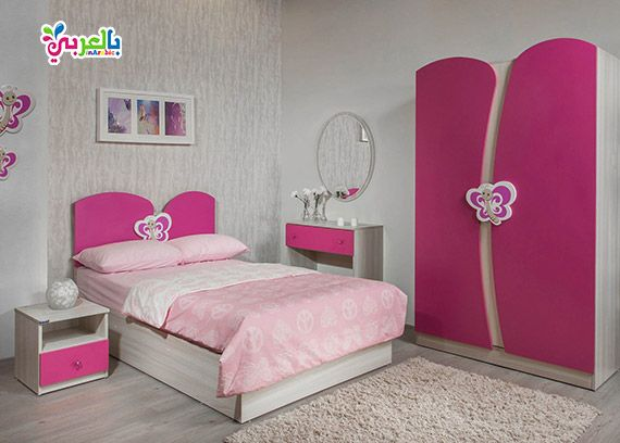 غرف نوم للاطفال Kids Room Design Small Room Bedroom Bedroom Tv Wall