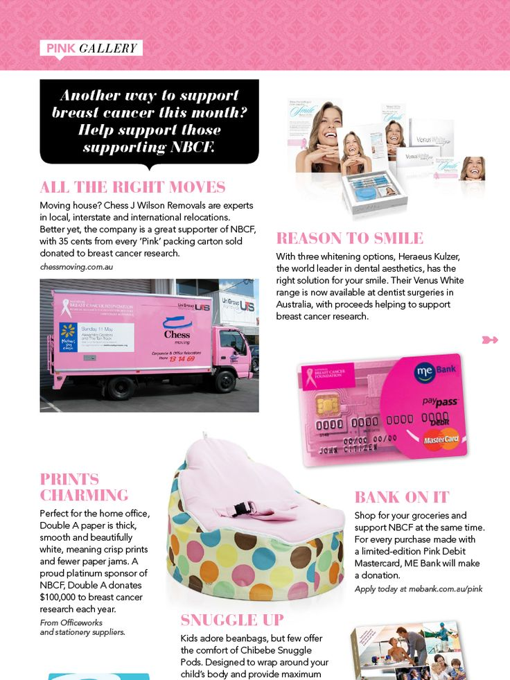 Chibebe Serendipity in the NBCF Body&Soul Magazine Sept/Oct 2013