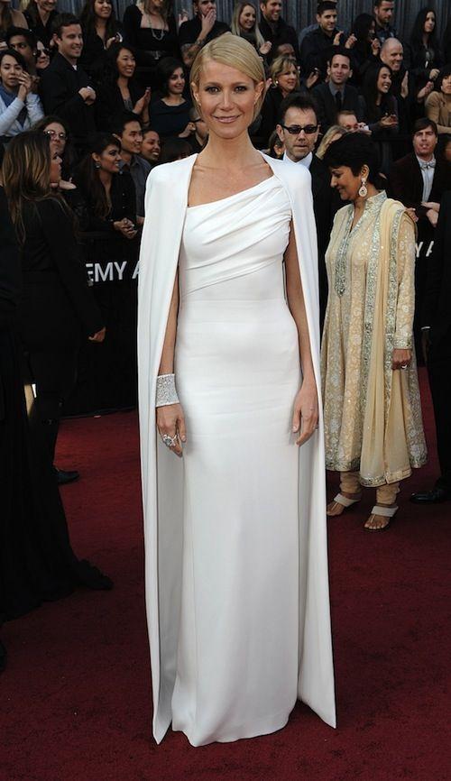 Gwenneth Paltrow in witte jurk van Tom Ford - Oscar uitreiking 2012