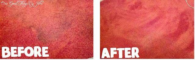 Homemade Carpet Stain Remover…NO Scrubbing Needed!One Good Thing by Jillee   One Good Thing by Jillee