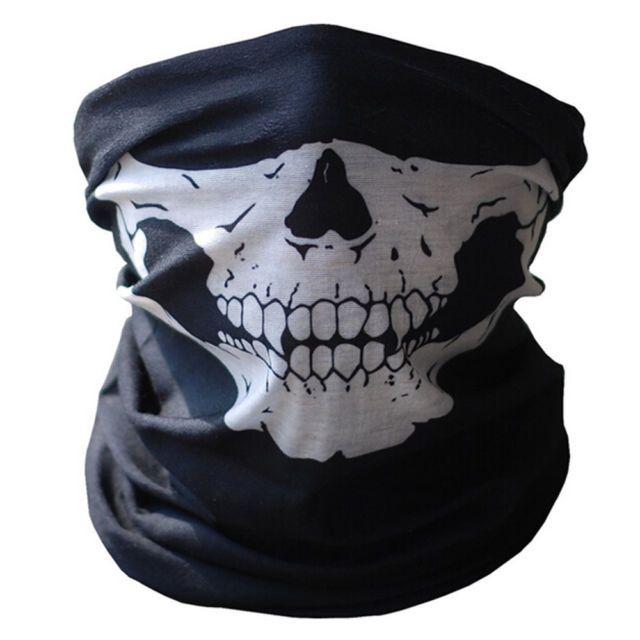 Image result for half skull bandana