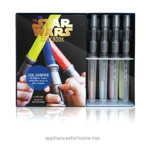 Ice Sabers: 30 Chilled Treats Using the Force of Your Freezer! (Star Wars Cookbook)  Check It Out Now     $24.20    Create 30 sweet, chilled treats in this Star Wars-themed cooking kit, from Mos Icely to Qui-Gon Gingerbread Ice Cream ..  http://www.appliancesforhome.top/2017/03/21/ice-sabers-30-chilled-treats-using-the-force-of-your-freezer-star-wars-cookbook/