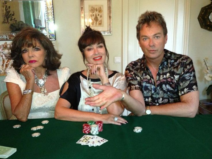 23.06.2014 Joan and Julian Clary fleeced at poker by former Bond girl Alison Worth.  Didn´t they have fun?