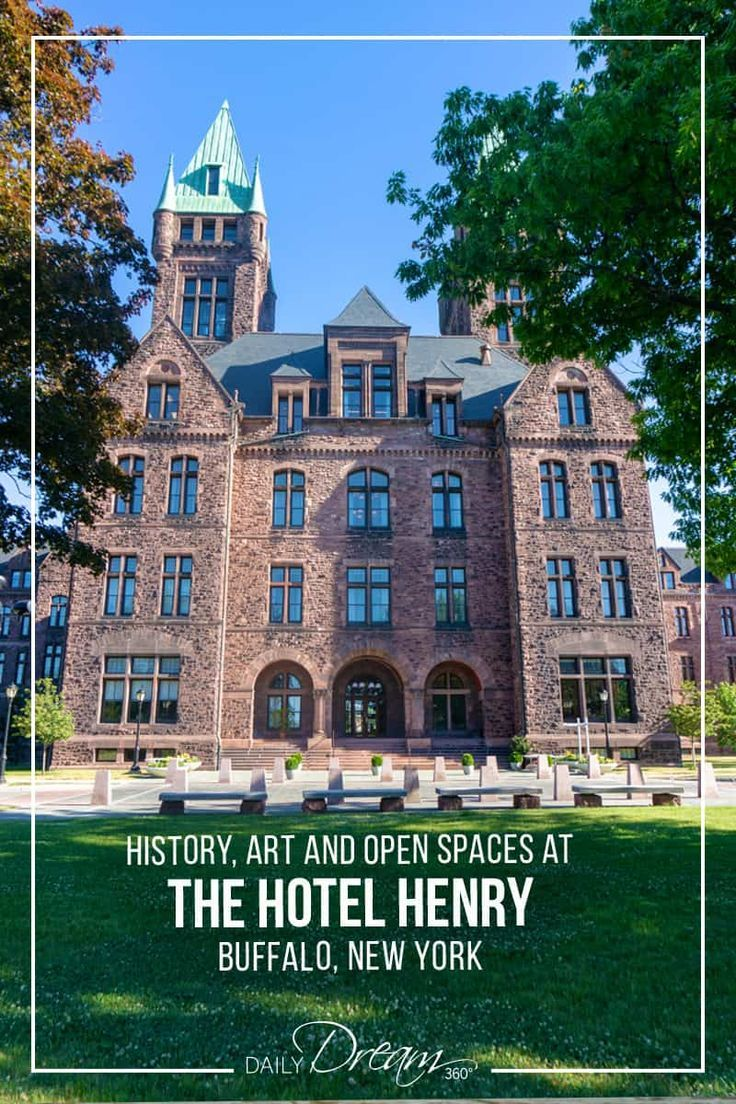 History Art And Open Spaces At The Hotel Henry Buffalo Ny Hotel