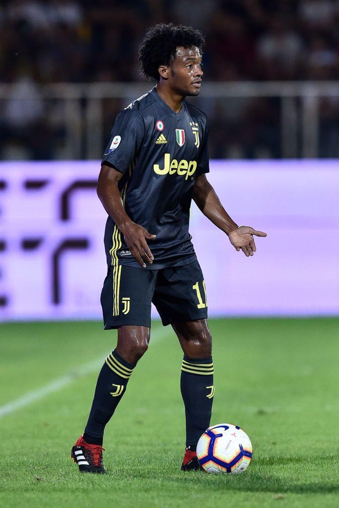 Juan Cuadrado of Juventus during the Serie A match between ...