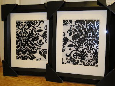 Dwell With Style: Framed Gift Wrap Paper: Decor, Style, Frames Gifts, Gifts Wraps, Wraps Paper