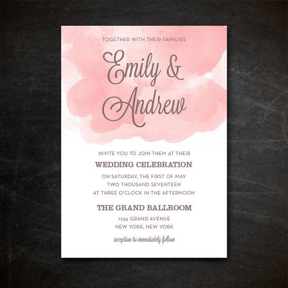 60 best Wedding Invitation Templates images on Pinterest Navy - wedding template