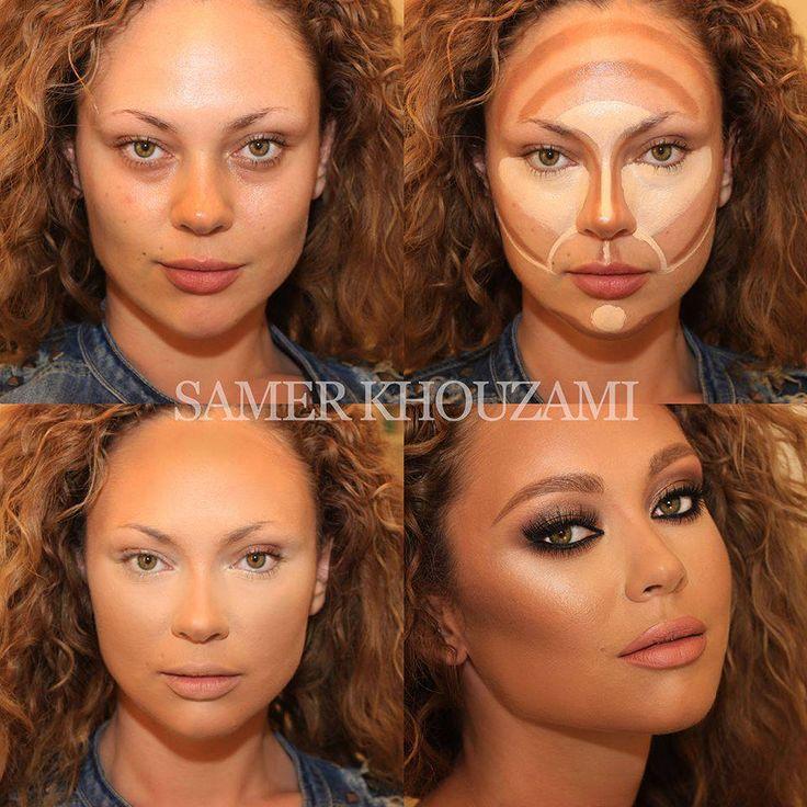 84 best Samer Khouzami - contour makeup extraordinaire images on ...