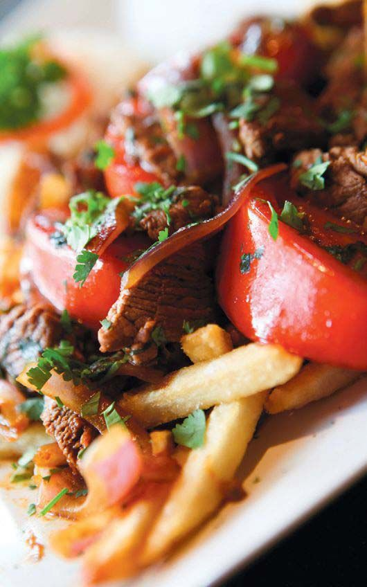 This recipe for Lomo Saltado is courtesy of Jalea, downtown Sarasota's latest Peruvian eatery.