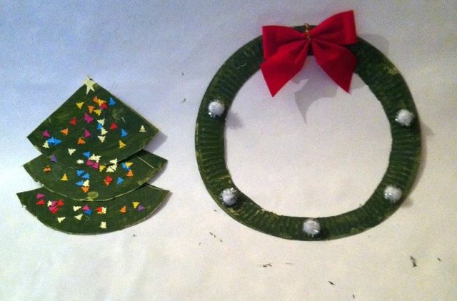 Craft Advent: Day 8: Two-for-One Paper Plate Craft |Where Wishes Come From