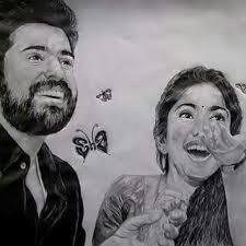 Image result for pencil drawings of nivin pauly in ...