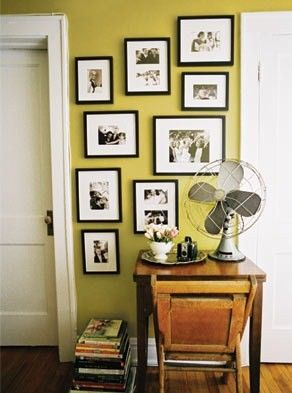 Gallery Wall & accent color