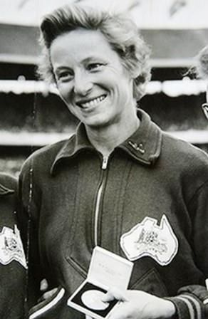 Australia's Shirley Strickland won the 80 metres hurdles at the 1956 Melbourne Olympic Games in a world record time of 10.9 seconds