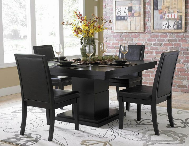 22++ Black dining table with bench Best Choice
