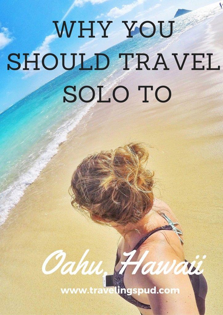 Traveling Solo to Oahu, Hawaii   Traveling Spud